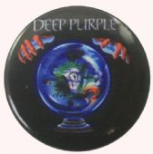 Deep Purple - 'Slaves & Masters' Button Badge